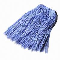 Wholesale Kentucky Mop, Head with Nice Wear-resistant, Made of Cotton and Viscose Blended from china suppliers