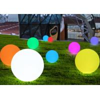 Buy cheap Color Changing Romantic Decorative LED Waterproof Ball PE Material IP65 from wholesalers