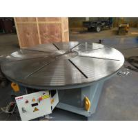Quality 0.01 - 0.1rpm Pipe Welding Positioners , 5000 lbs Capacity Rotary Welding Turn Table for sale