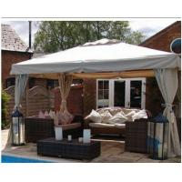 Wholesale 9' * 11' Steel Outdoor Patio Canopy Gazebo Tent with Steel Round Corner from china suppliers