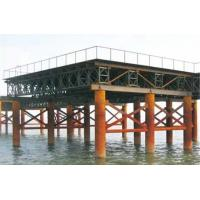 Wholesale Movable Modular Military Floating Bridge Prefabricated Steel Truss Bridge from china suppliers