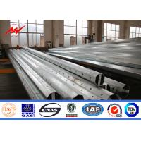 Wholesale 30m power coating galvanized Eleactrical Power Pole for 110kv cables from china suppliers