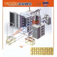 Quality Ceramic Tile Arc Vacuum PVD Plating Equipment / TiN Gold Coating Metal PVD Machine for sale