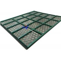 Wholesale High Efficiency Kemtron Shaker Screens 1250mm * 715mm Size Green Color from china suppliers