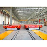 Wholesale Busbar powered rail transfer bogie for steel plate handling bay to bay from china suppliers
