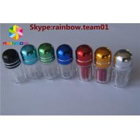 Wholesale sex tablets capsules bottle with metal cap hexagon shape small capsule bottle with cap from china suppliers