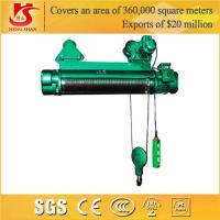 Wholesale Single and double speed general application lifting electric wire rope hoist from china suppliers