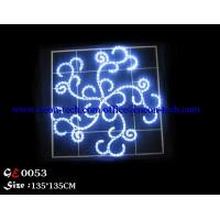 Wholesale 2D LED christmas motif lighting,LED motif christmas light,snowflakes LED rope light motif from china suppliers