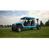 Wholesale 50kw 1100cc Gas Powered Utility Vehicles With 4 Seats Blue / Green from china suppliers