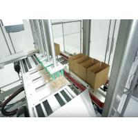 Wholesale Automatic Case Packer With Carton Erector And Closer For Apparel / Clothes / Garment from china suppliers
