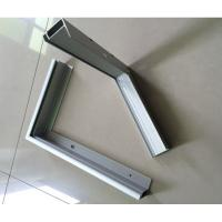 Wholesale T5 / T6 6000 Series Anodized Aluminum Solar Panel Frame ISO9001 Certification from china suppliers