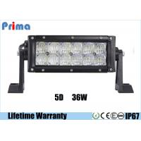 "Wholesale 6000K LED Offroad Light Bar , 5D Reflector 7.5"" Flood Beam 36W LED Light Bar  from china suppliers"