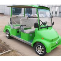 Wholesale Green 4 Seat Electric Car Sightseeing Electric Vehicle For 4 Persons With DC Motor from china suppliers