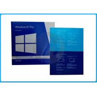 Wholesale GENUINE Microsoft Software Windows 8.1 PRO 32 x 64 bit  RETAIL BOX With Retail Key/OEM Key100% activation from china suppliers