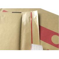 Quality Recycle  Eco Golden Brown Kraft Bubble Envelopes For  E-commerce for sale