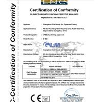 Guangzhou GLM Beauty Spa Equipment Factory Certifications