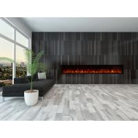 Wholesale electric fireplace heater long rectangle contemporary Modern Flames full recessed big size real log fuel decor home from china suppliers