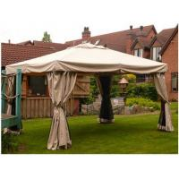 Wholesale Large UV - Resistance Steel Patio Event Garden Gazebo Tent With Beautiful Curtains from china suppliers