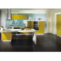 Wholesale High Gloss Flat UV White Kitchen Cabinets With Granite Countertops Glass Open Shelves from china suppliers