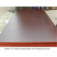 Wholesale Lightweight 8mm black laminated Hardwood, birch, combined formwork plywood system from china suppliers