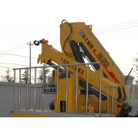 Wholesale 360 degrees XCMG Knuckle boom crane Safety Hydraulic for loading With 90L Oil Tank from china suppliers