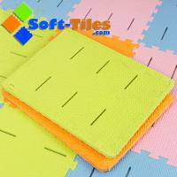Wholesale EVA anti-slip foam bath mat non-toxic , anti-slip design with borders and without borders from china suppliers