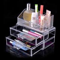 Wholesale Non-toxicity Acrylic Cosmetic Display / Portable acrylic makeup box from china suppliers