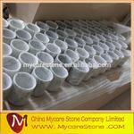 Wholesale Carrara White Marble Stone Pen Holder from china suppliers