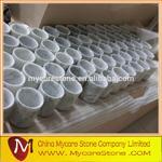 Buy cheap Carrara White Marble Jar from wholesalers