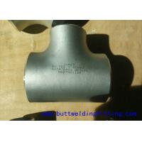 Wholesale ASME B16.9 Std XS XXS Carbon Steel / Stainless Steel Tee 1 inch - 48 inch from china suppliers