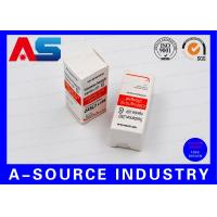 Wholesale Biolab Security Carton Bottle Box 10ml Vial Boxes Embossed Spot UV Printing from china suppliers