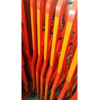 Aluminium Alloy Red Colour Safety Barrier Gate For Crowd Control With 3M Reflective Tapes