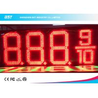Buy cheap Outdoor Waterproof LED Gas Price Display High Brightness For Gas / Petrol Station from wholesalers
