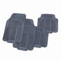 Wholesale Rubber Car Mats, Feel Comfortable, Various Designs Available from china suppliers