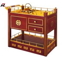 Wholesale Tea Trolleys with Handle and Drawers-Service Trollley from china suppliers