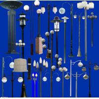 Wholesale professional exporter European style lighting pole/light poles outdoors/lamps pole from china suppliers