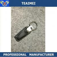 Wholesale Custom Car Logo Genuine Leather Keychain Car Parts Key Holder from china suppliers