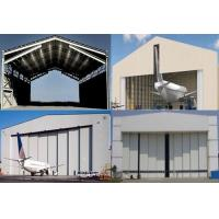 Wholesale Single Span Steel Structure Aircraft Hangar Buildings With Wall / Roof Panel from china suppliers