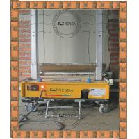Quality 220V Mortar Wall Automatic Rendering Machine 500mm Width For Building Plastering 750sqm/8 hours for sale