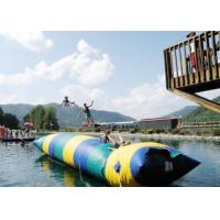 Wholesale Floating Inflatable Water Trampolines , Lake Inflatable Water Blob from china suppliers