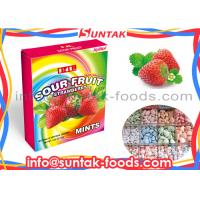 Wholesale Sugar Free Sour Fruit Candy With Low Calorie In Logo Print Box from china suppliers