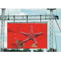 Wholesale Rental Outdoor LED Display P6 , Commercial Advertising LED Video Wall SMD3535 from china suppliers