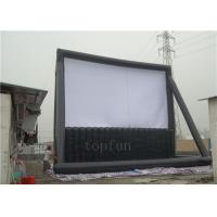 Wholesale Fundraising / Entertainment Outdoor Inflatable Projection Screen PVC Tarpaulin Durable from china suppliers