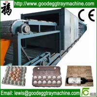 Wholesale Single layer Paper Egg Tray Drying Line from china suppliers