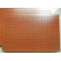 Buy cheap Perforated Fireproof MDF Wooden Acoustic  Panel for Wall and Ceiling from wholesalers