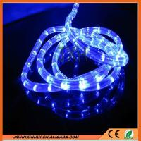 Buy cheap DS 13mm Round 2 wires Blue LED Rope Light from wholesalers