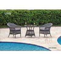 Wholesale Outdoor Rattan Chairs With Table Bistro Set , Rattan Wicker Patio Furniture from china suppliers