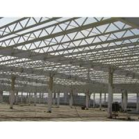 Buy cheap Prefabricated Structure Steel Shed With Gable Roof Or Mono-pitch Roof from wholesalers