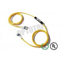Wholesale 2X2 1m Single Mode Fiber Coupler 1310 / 1550nm LC / UPC With With Single Window from china suppliers