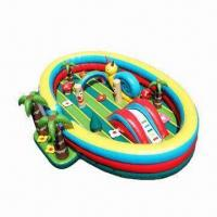 Wholesale Toddlers Inflatable Bouncer, Eco-friendly and Aging-resistant, Available in Various Colors from china suppliers